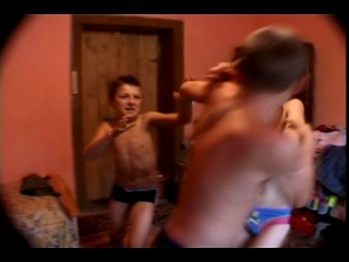 Azov Films Boy Fights Sticky Water Wiggles